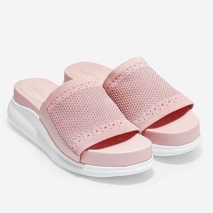 Cole Haan 2.Zero Grand Slide Sandal Sparkle Rose